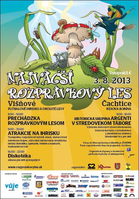 Najväčší rozprávkový les Višňové-Čachtice 2013