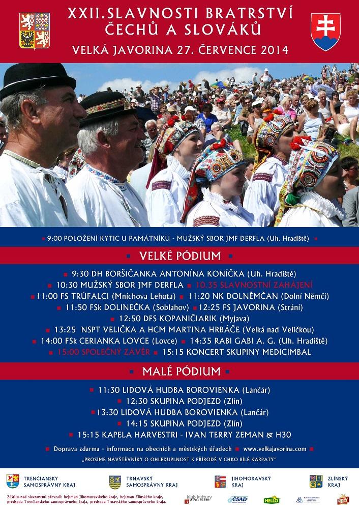 slavnosti bratstva cechov a slovakov 2014