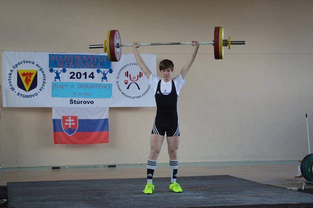 Matej Kubak nadhod 108 kg