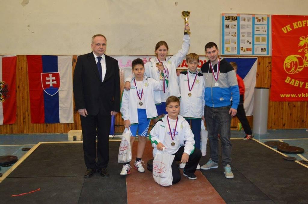 Družstvo mladších žiakov  Nové Mesto nad Váhom