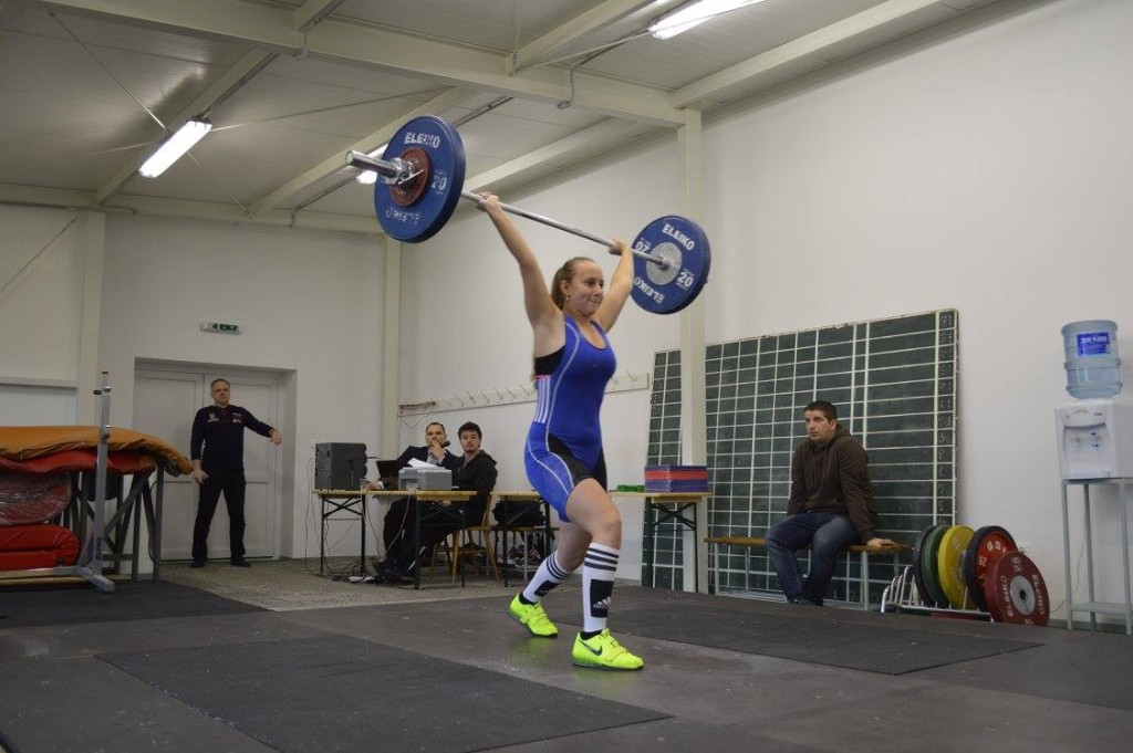 Miriam Skovajsova nadhod 65 kg
