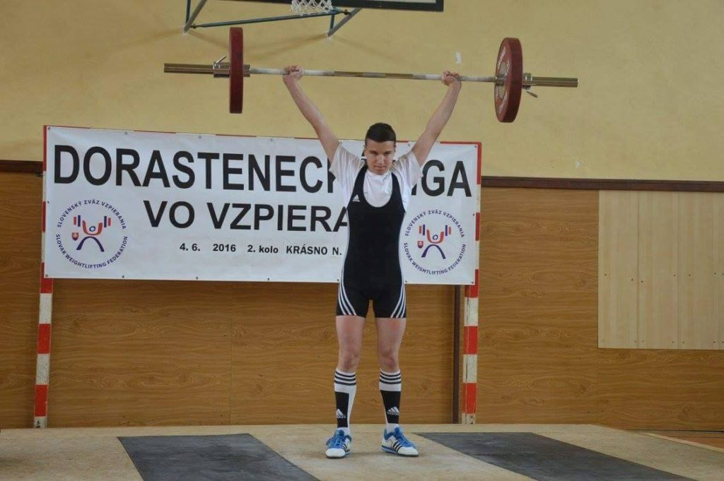 Dominik Krajčovic nadhod 70 kg