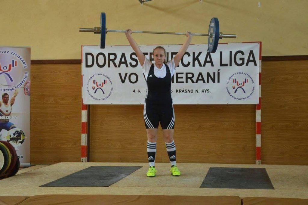 Miriam Skovajsová nadhod 60 kg