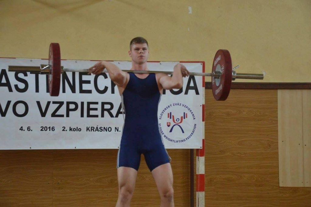 Peter Michálek nadhod 75 kg